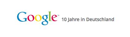 10 Jahre Google Deutschland