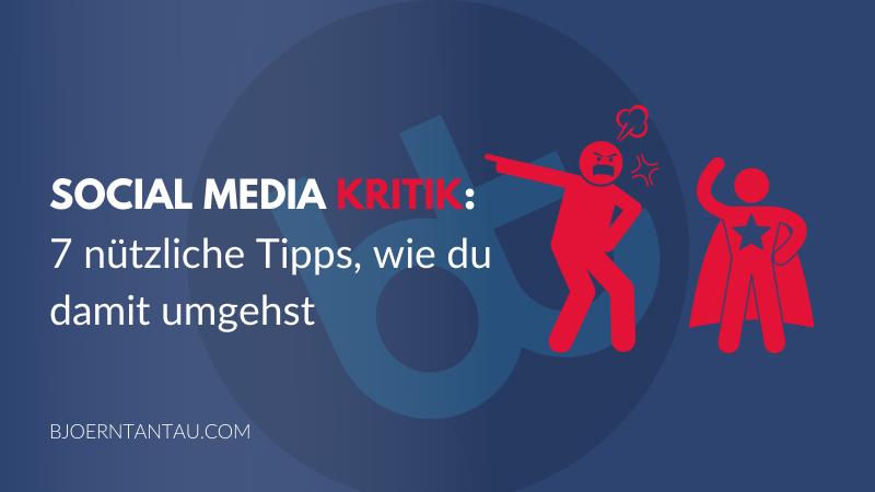 10. Social Media Kritik