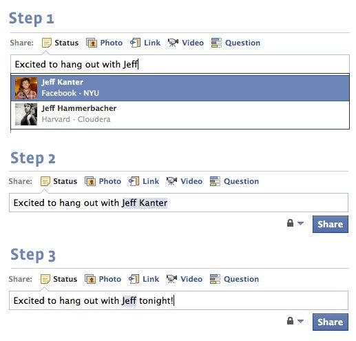 Facebook vereinfacht Markieren von Freunden