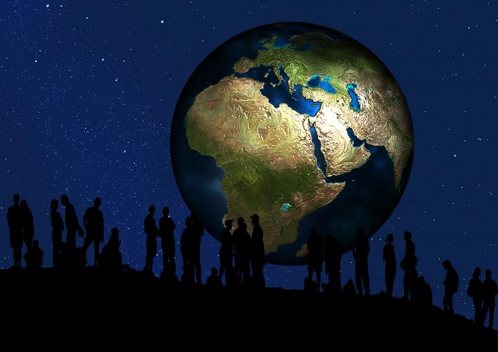 Facebook will mediale Weltherrschaft (Bild: Gerd Altmann, ladyoak.com)