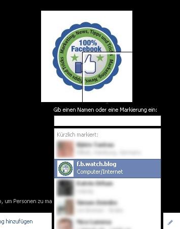 Foto Tagging bei Facebook jetzt auch für Seiten