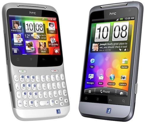 Facebook Handys von HTC ab Mitte Juni