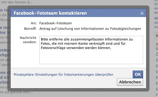 So löscht man gespeicherte Daten der Facebook Gesichtserkennung