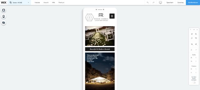 Mobile Websites werden automatisch zusätzlich erstellt
