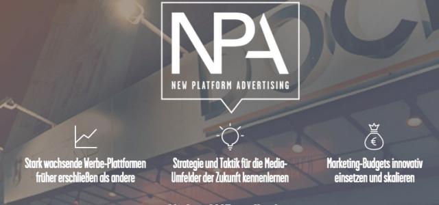 """Warum du die """"New Platform Advertising""""-Konferenz nicht verpassen darfst"""