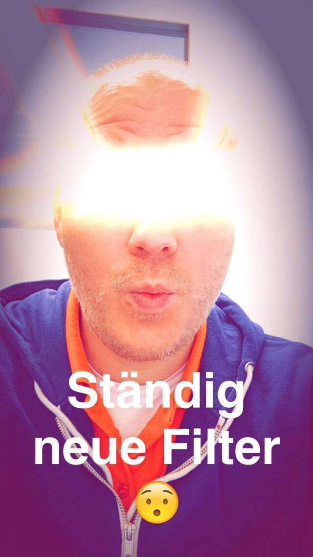 Snapchat bietet jede Menge Selfiefilter