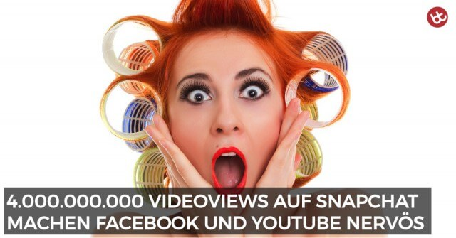 Snapchat greift YouTube und Facebook massiv an