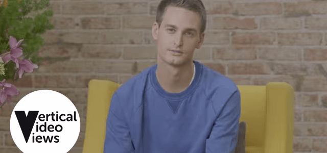 "Snapchat revolutioniert mobile Video-Werbung durch ""3V Advertising"""