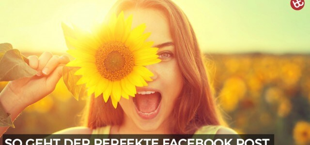 Wie du den perfekten Facebook Post schreibst
