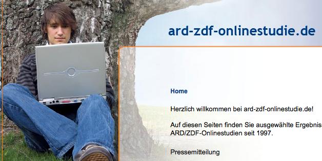 Neue Internetstudie von ARD und ZDF