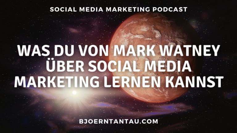 Was du von Mark Watney über Social Media Marketing lernen kannst