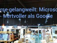 Börse von Google gelangweilt