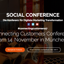 Connecting Customers Conference München 2017