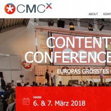Content Marketing Conference Exposition München 2018