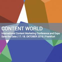 Content World Frankfurt 2016