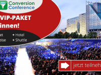 Nur bis 10. September: VIP-Package zur Conversion Conference gewinnen