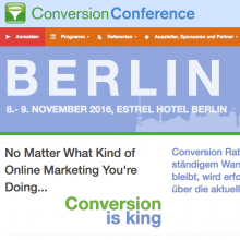 Conversion Conference 2016