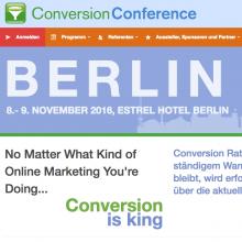 Conversion Conference 2016