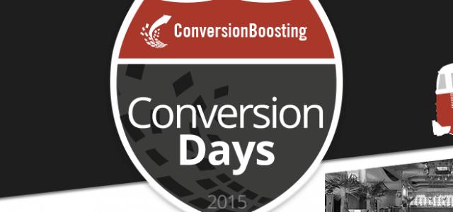 Precap: ConversionDays 2015 – 1000 Ideen für mehr Conversions?