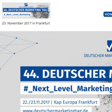 Deutscher Marketing Tag Frankfurt 2017