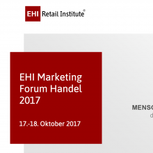 EHI Marketingforum Köln 2017