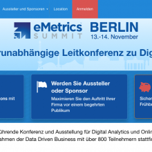 eMetrics Summit Berlin 2017
