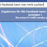 Facebook arbeitet an verbesserter Suchfunktion