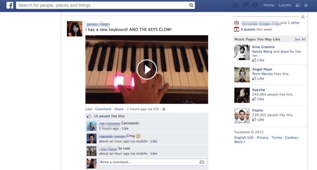 Facebook testet Auto-Play Videos im News Feed