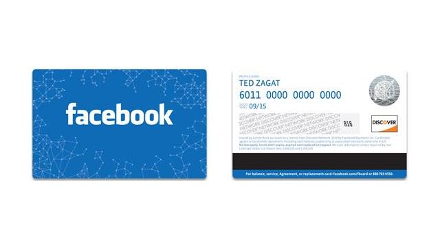 Die Facebook Card ist da