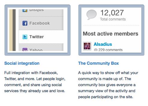 Facebook Comments und Disqus vs. WordPress Kommentare