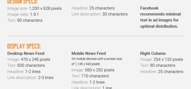 Alle Facebook Grafikgrößen auf einen Blick