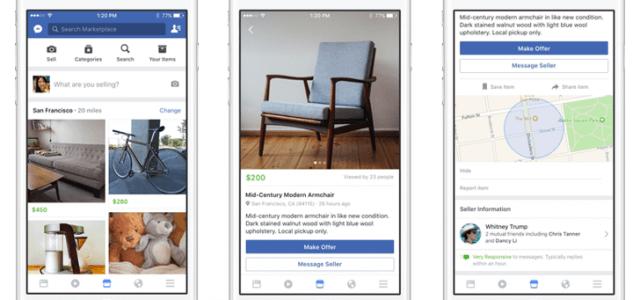 Facebook Marketplace: Virtueller Flohmarkt greift eBay und Co. an
