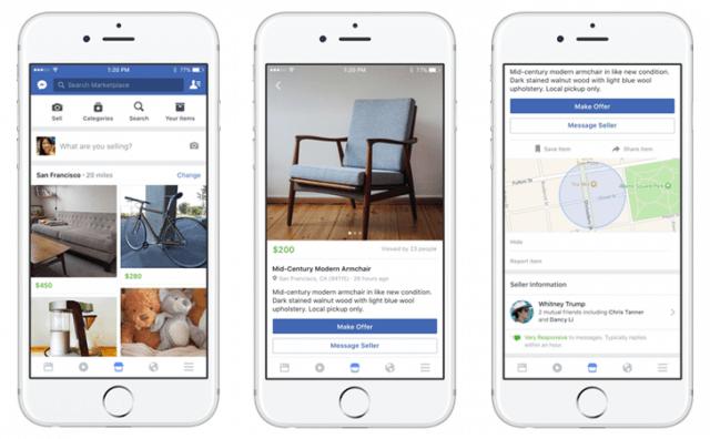 Facebook Marketplace kommt nach Deutschland