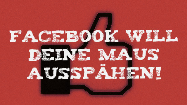 Facebook will Mausbewegungen analysieren