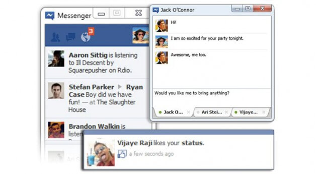Facebook Messenger ist da