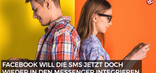 Facebook will die SMS im Messenger