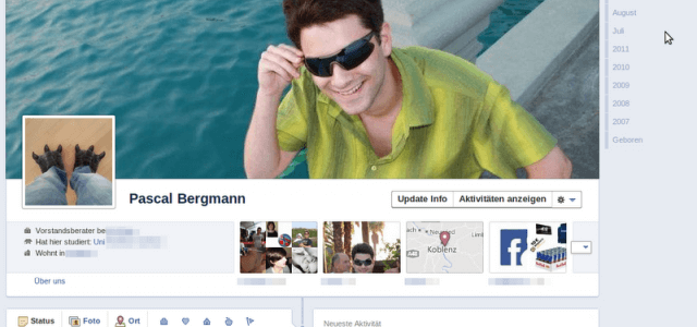 Facebook Timeline startet offiziell in Neuseeland