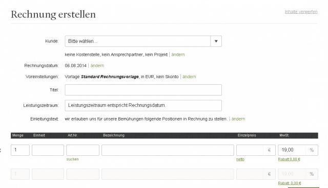 Test: Wie man mit FastBill stressfrei Rechnungen online erstellt