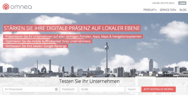 """Getestet: Local SEO mit Omnea und dem """"Business Scan"""""""