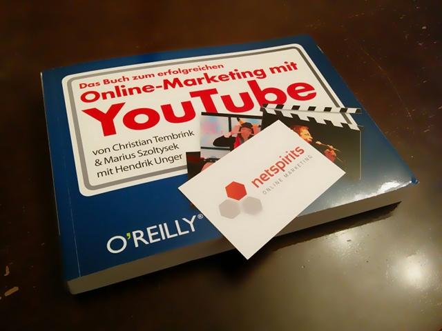 """Verlosung: 5 Exemplare von """"Das Buch zum erfolgreichen Online-Marketing mit YouTube"""" zu gewinnen"""