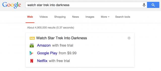 So will Google indirekt an illegalen Musik- und Filmdownloads verdienen