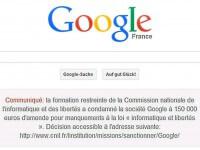 Google wegen Datenschutzverstößen in Frankreich verurteilt