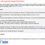 Google+ Account löschen: So geht's!