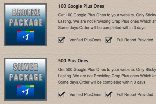 Das riskante Geschäft mit gekauften Google Plus Auszeichnungen