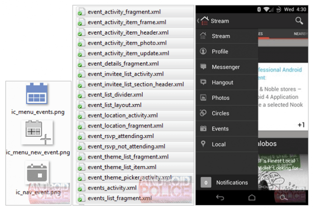 Google+ Events geleakt