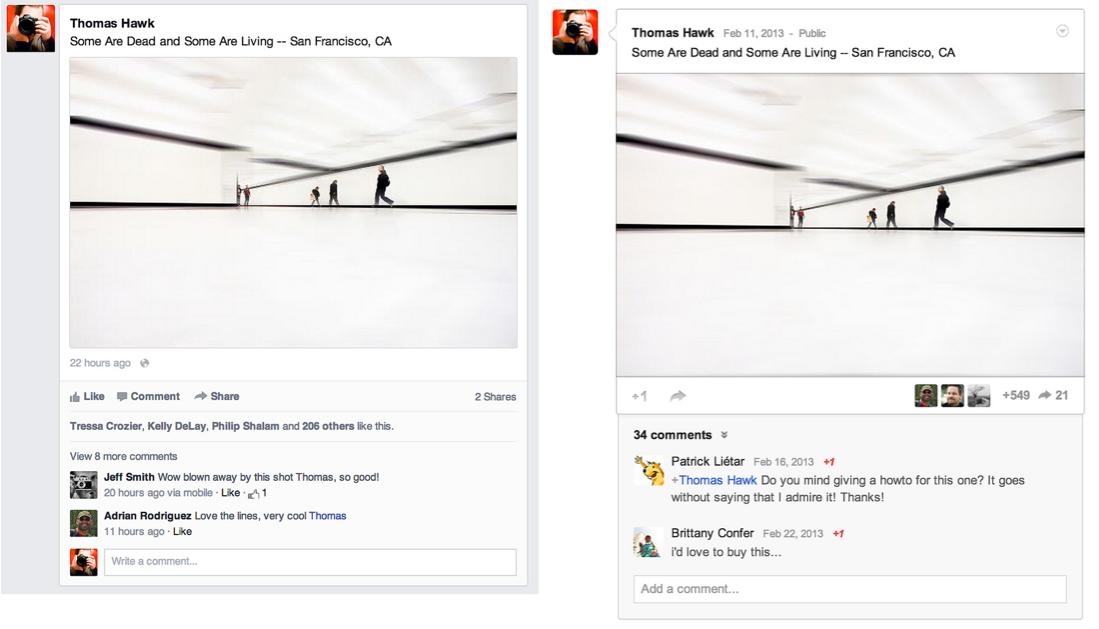 Hat Facebook den neuen Newsfeed bei Google+ geklaut?