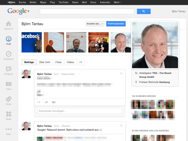 Google+ Relaunch