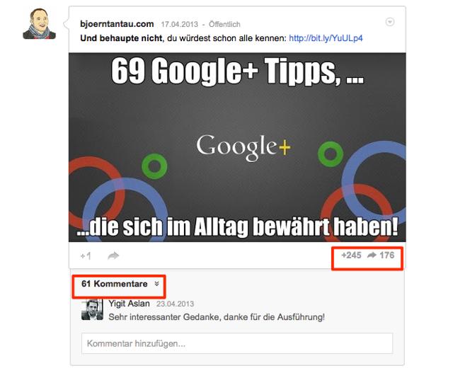 Traffic und Reichweite mit Google+ boosten