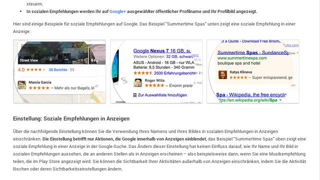 Google's soziale Empfehlungen deaktivieren: So geht's!
