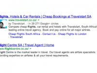 Google testet Suchergebnisse mit Firmenlogo